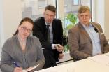 Susanne Henriksson, Jonatan Hjort, Håkan Stegeby