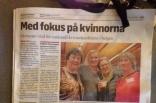 Värnamo Nyheter: Med fokus på kvinnorna. Värnamo värd för nationell kvinnokonferens i helgen.