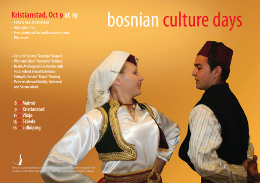 Kristianstad – Bosnian Culture Days (Photo & Design: Haris T.)
