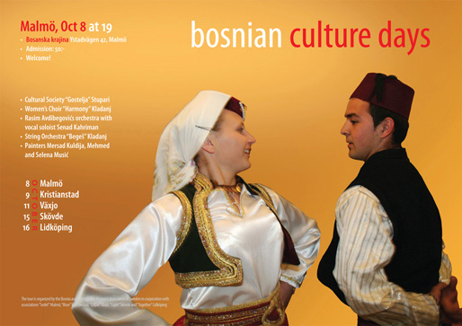 Malmö – Bosnian Culture Days (Photo & Design: Haris T.)