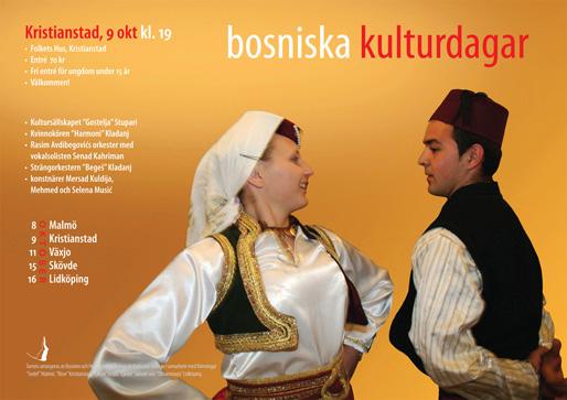 Kristianstad – Bosniska kulturdagar (Foto & design: Haris T.)