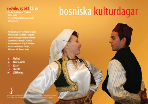 Skövde – Bosniska kulturdagar (Foto & design: Haris T.)