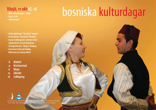 Växjö – Bosniska kulturdagar (Foto & design: Haris T.)