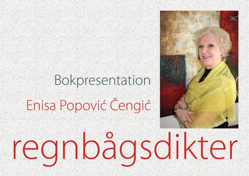 """Presentation av poesiboken """"Regnbågsdikter"""""""