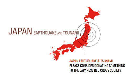 Please consider donating something to the Japanese Red Cross Society