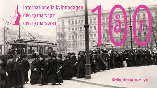 Internationella kvinnodagen (Berlin, den 19 mars 1911)