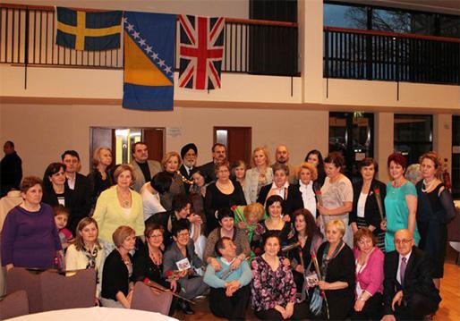 Bosniskorna från Storbritannien och Sverige