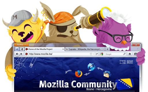 Bosnien och Hercegovinas Mozilla Community
