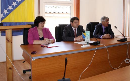 Emina Ćejvan, Ćamil Duraković och dr Mehmed Avdagić