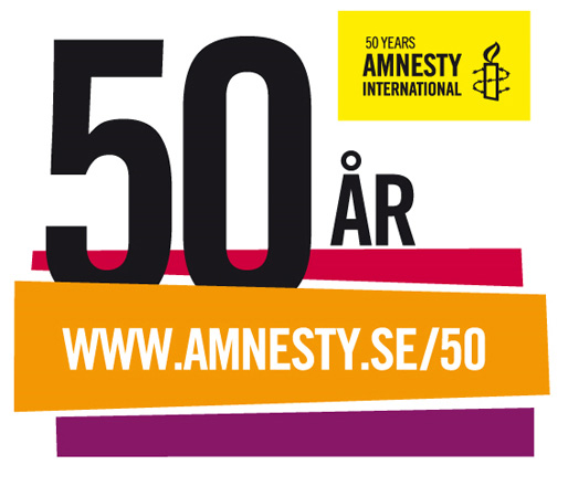 Amnesty International – 50 år