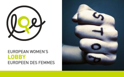 Europeiska Kvinnolobbyn – Stoppa våld mot kvinnor!