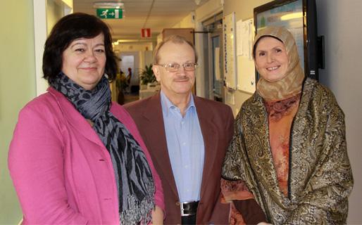 Emina Ćejvan, Anders Castberger och Fadila Jašarević