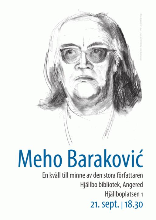 Meho Baraković (teckning: Lilian Jansson)