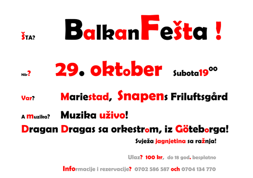 Balkan Fest i Mariestad