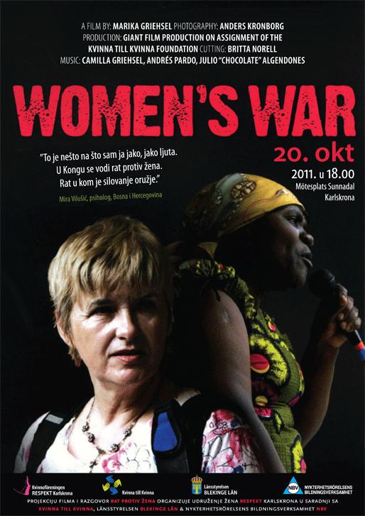 Projekcija filma i razgovor: Rat protiv žena