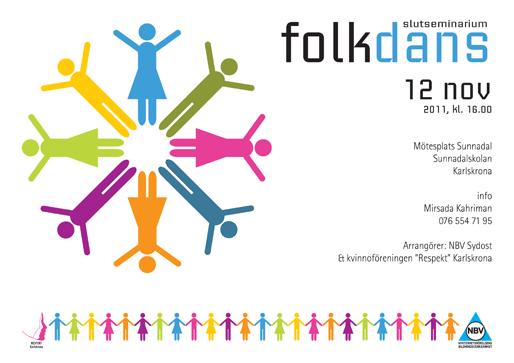 Folkdans slutseminarium i Karlskrona