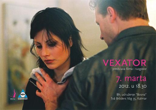 Vexator – predstava filma i razgovor