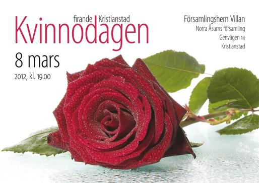 Kvinnodagens firande i Kristianstad