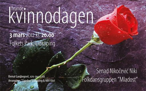 Kvinnodagens firande i Lidköping