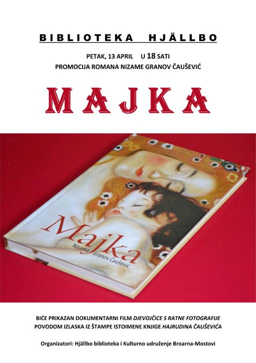 "Promocija romana Nizame Granov Čaušević ""Majka"""