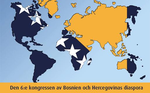 Den 6:e kongressen av Bosnien och Hercegovinas diaspora