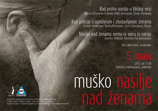 Konferencija Muško nasilje nad ženama