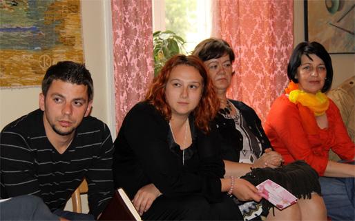 Nisail Halilović, Alma Mešić, Emina Ćejvan och Mirsada Kahriman