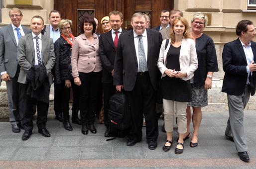 NBV på besök i Bosnien (Foto: Aida Serdar-Landzo)