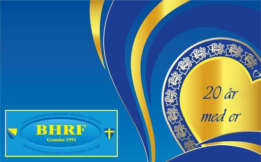 Bosnisk-Hercegovinska riksförbundet firar sitt 20 årsjubileum