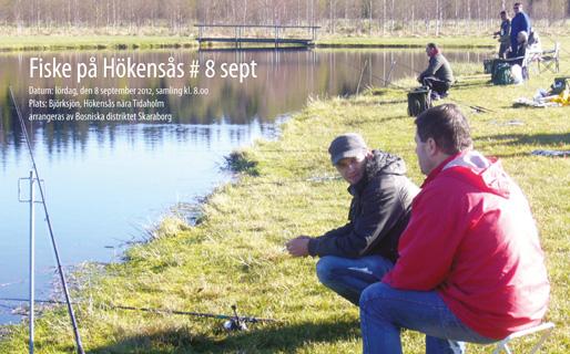 Fiske på Hökensås