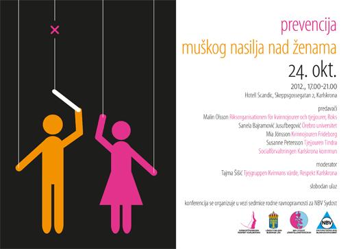 "Konferencija ""Prevencija muškog nasilja nad ženama"""
