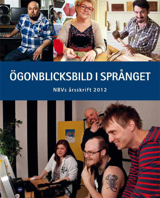 Ögonblicksbild i språnget – NBV:s årsskrift 2012