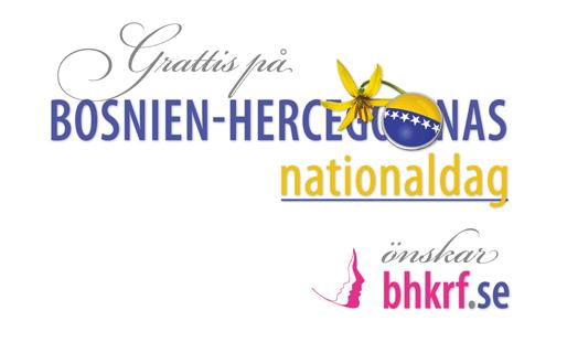 Grattis på Bosnien-Hercegovinas nationaldag!