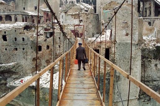 Mostar (Foto: Nigel Chandler, 1994.)