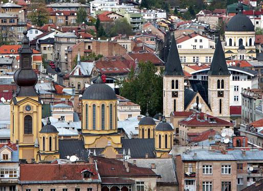 Sarajevo, Europas Jerusalem!