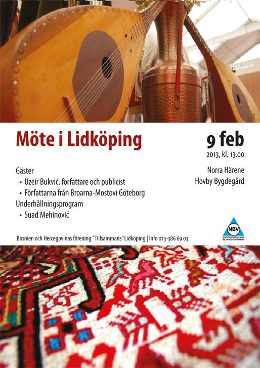 Möte i Lidköping