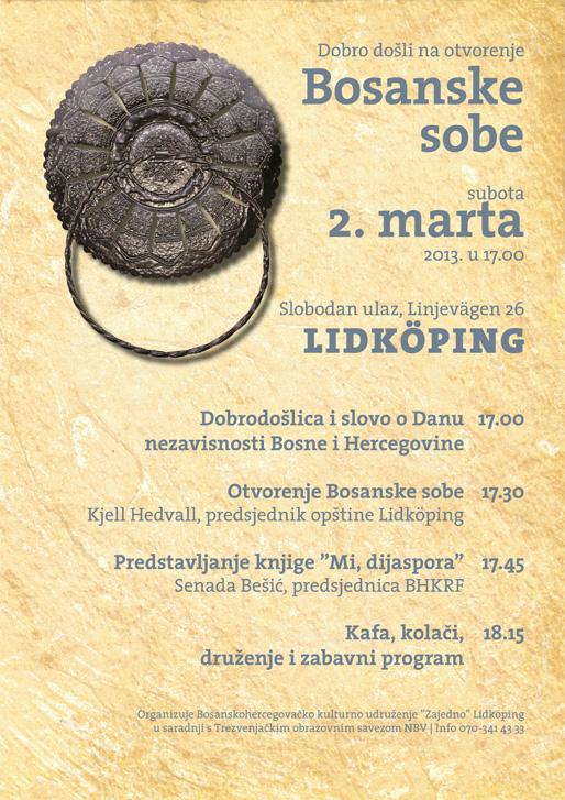 Otvorenje Bosanske sobe