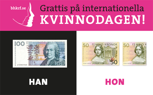 Grattis på internationella kvinnodagen!