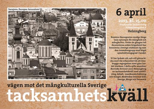Tacksamhetskväll – Vägen mot det mångkulturella Sverige