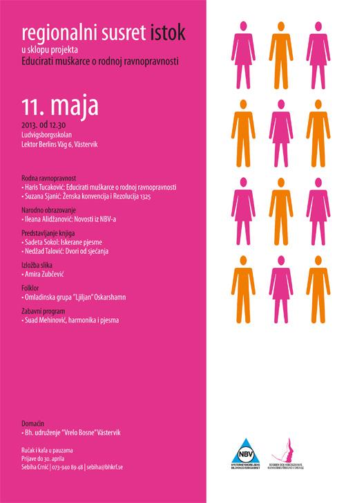 Regionalni susret Istok u sklopu projekta Educirati muškarce o rodnoj ravnopravnosti