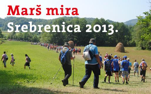 Marš mira Srebrenica (Foto: Sabaheta Vehabović, 2012.)