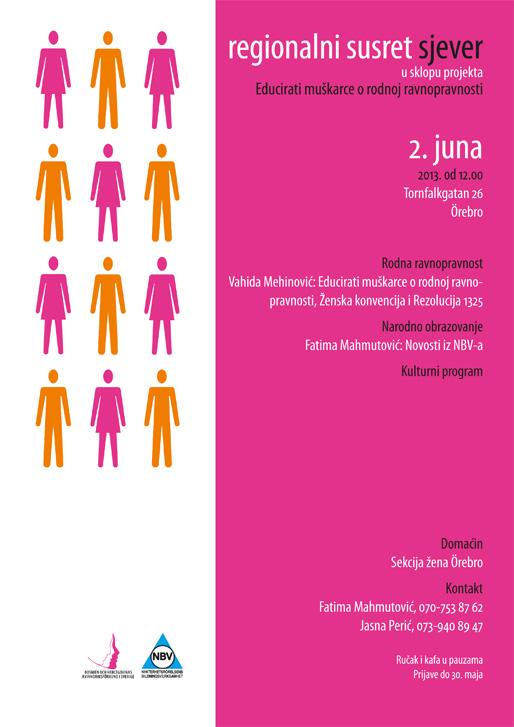 Regionalni susret Sjever u sklopu projekta Educirati muškarce o rodnoj ravnopravnosti
