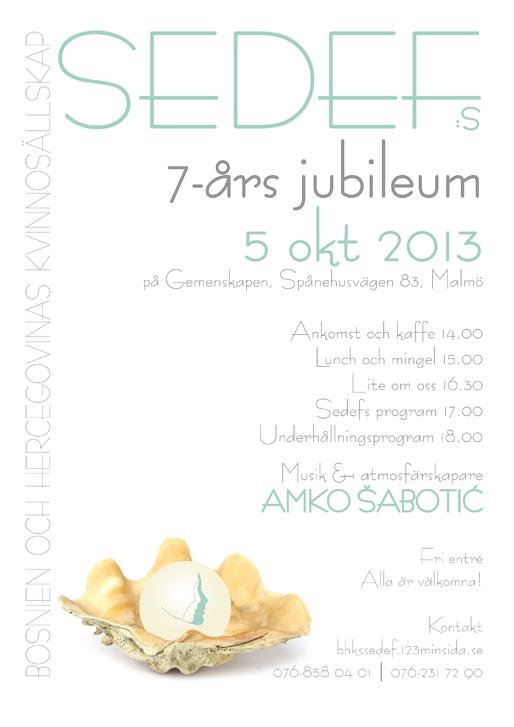 Sedefs 7-års jubileum