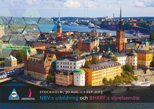 NBV:s utbildning och BHKRF:s styrelsemöte