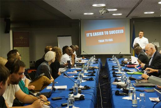 Slika s konferencije (Foto: Naša stranka)