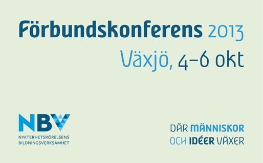 NBV:s förbundskonferens 2013