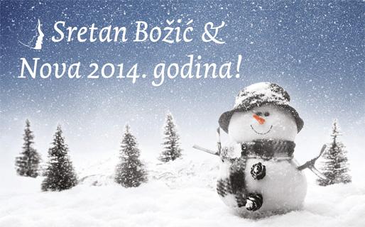 Sretan Božić i Nova 2014. godina!