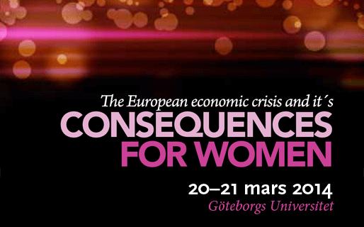 Konferensen: Den ekonomiska krisens konsekvenser för kvinnor