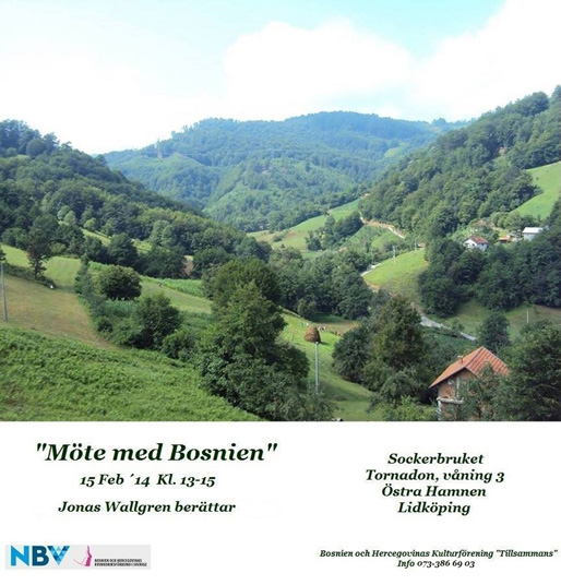 Jonas Wallgren: Mitt möte med Bosnien