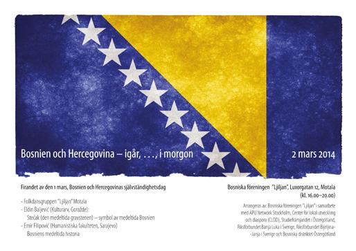 Bosnien och Hercegovina – i går, …, i morgon